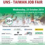 UNS TAIWAN JOB FAIR 23 OKTOBER 2019