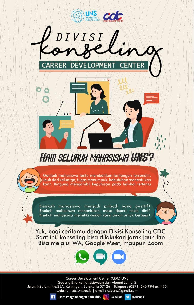 Layanan Konseling Career Development Center UNS
